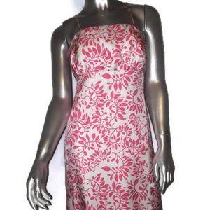 New VINEYARD VINES 'Skylark Silk Pink Dress Sz 12